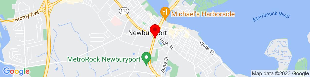 Google Map of 42.80919799999999, -70.8771083