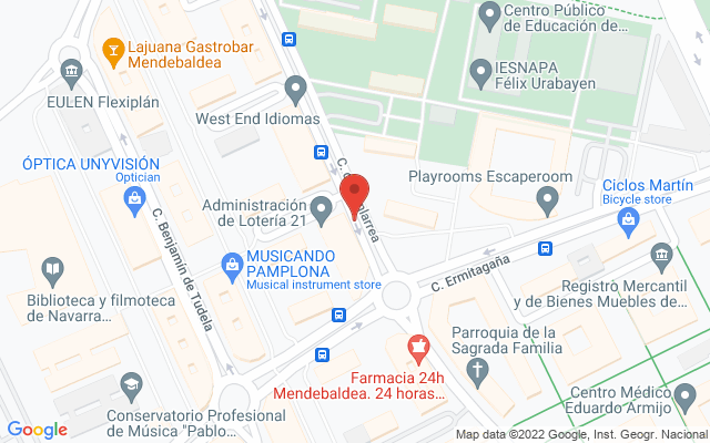 Administración nº21 de Pamplona