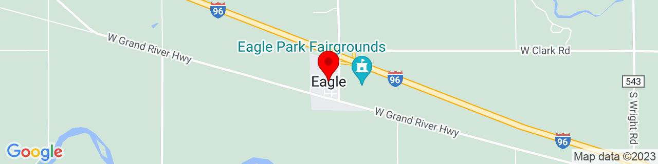 Google Map of 42.810055, -84.7902953