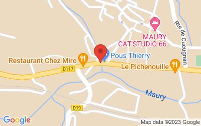 Avenue Jean Jaurès, 66460 Maury, France