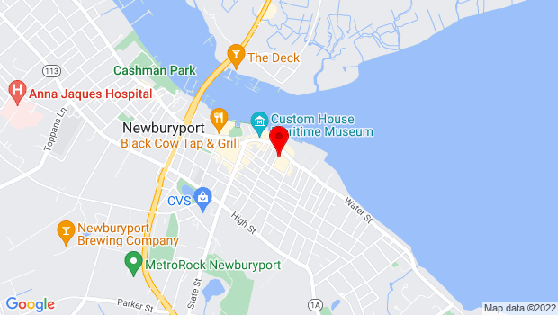 Google Map of 50 Water Street, Newburyport, MA 01950
