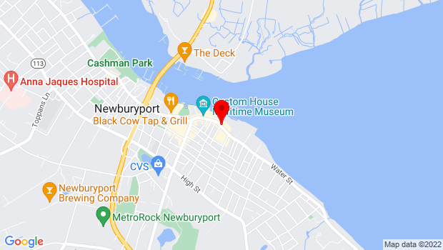 Google Map of 65 Water St, Newburyport, MA 01950
