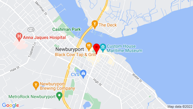Google Map of Market Square, Newburyport, MA 01950