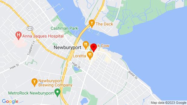 Google Map of Market Square, Newburyport, MA 01950