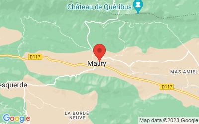 13 Route de Cucugnan, 66460 Maury, France