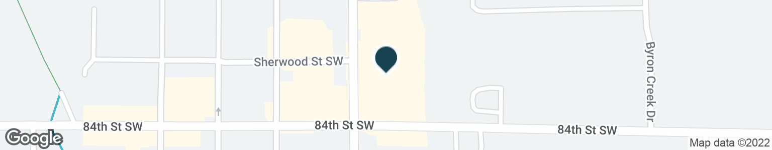 Google Map of8364 BYRON CENTER AVE SW