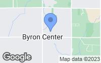 Map of Byron Center, MI