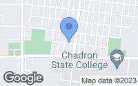 Map of Chadron, NE