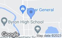 Map of Byron, MI