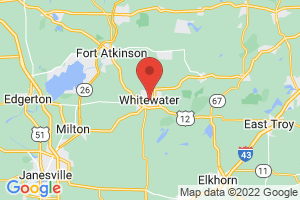Map of Whitewater