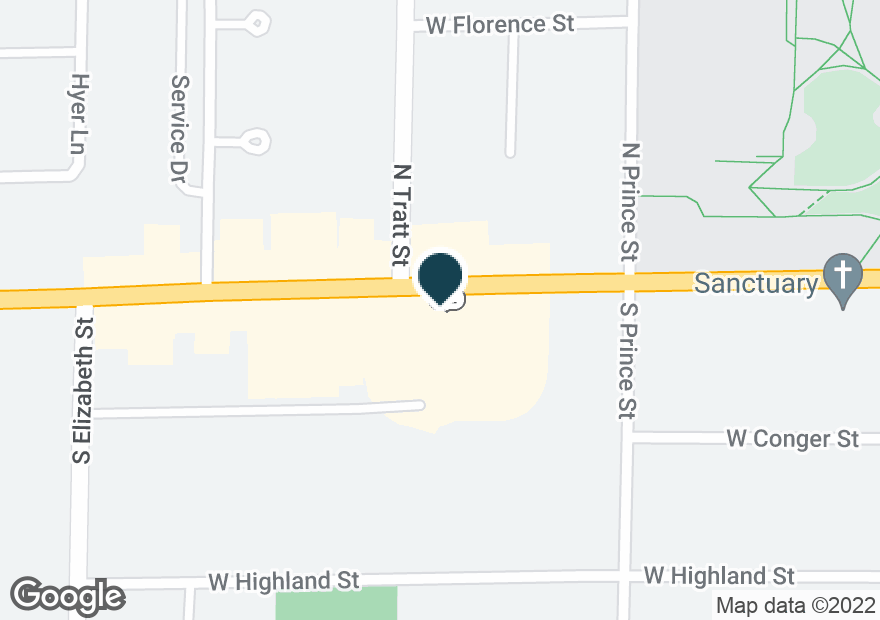 Google Map of1041 W MAIN ST