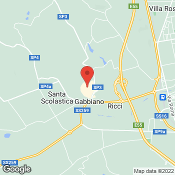 Map of Foot Locker Collonella at Centro Commerciale Val Vibrata, Contrada Rio Moro, unit 20,, Collonella,  64010