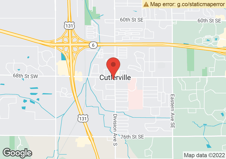 Google Map of 8 68TH ST SW