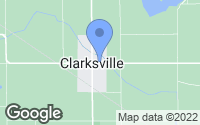 Map of Clarksville, MI