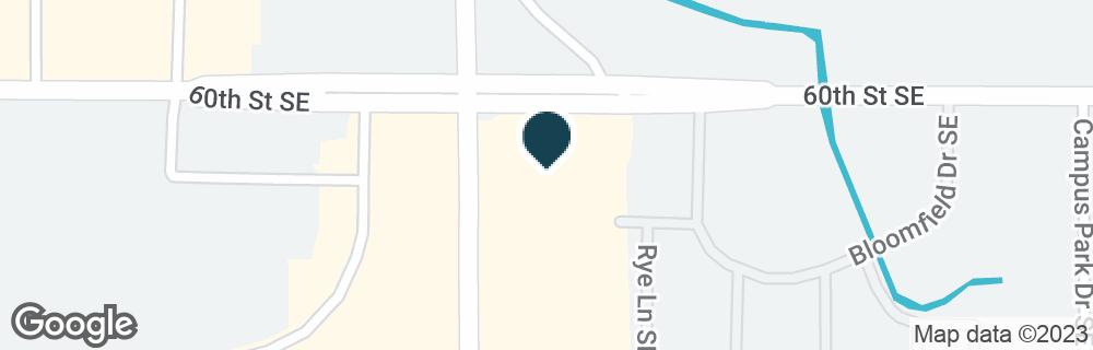 Google Map of6020 KALAMAZOO AVE SE