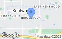 Map of Kentwood, MI