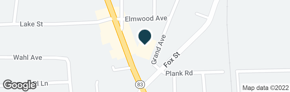 Google Map of212 N ROCHESTER ST