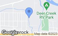 Map of Glenrock, WY