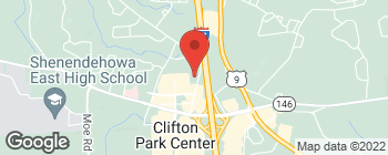 Map of 634 Plank Rd in Clifton Park