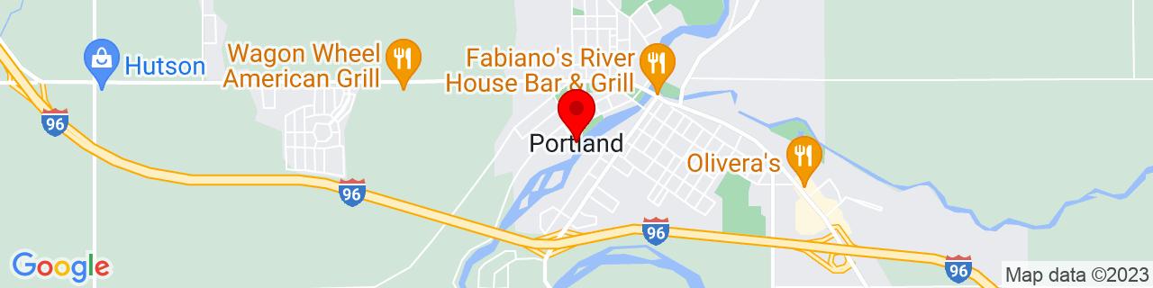 Google Map of 42.8672048, -84.9100792