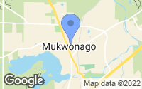 Map of Mukwonago, WI