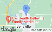 Map of Belleville, WI