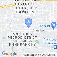 Расположение гостиницы Мой отель на карте
