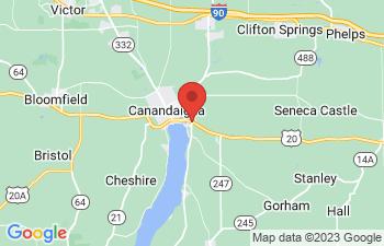 Map of Seneca Falls
