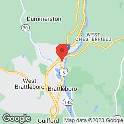 Brattleboro Bowl on the map