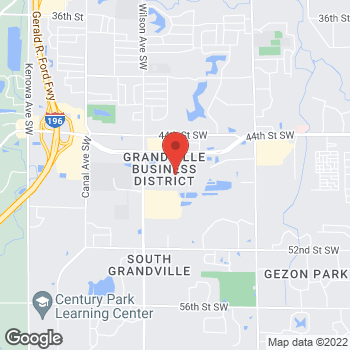 Map of Christopher & Banks at 3700 Rivertown Pkwy, Grandville, MI 49418