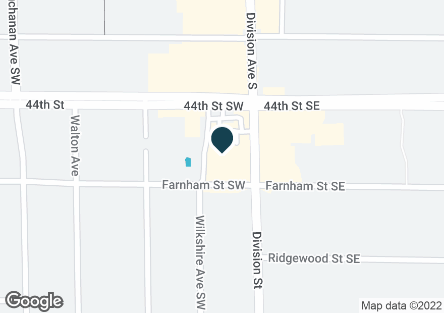 Google Map of4425 DIVISION AVE S