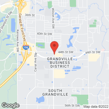 Map of Fifth Third Mortgage - Carl Boersen at 4460 Wilson Avenue, Grandville, MI 49418