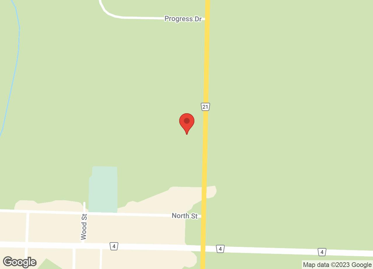 Google Map of Petrolia Veterinary Services