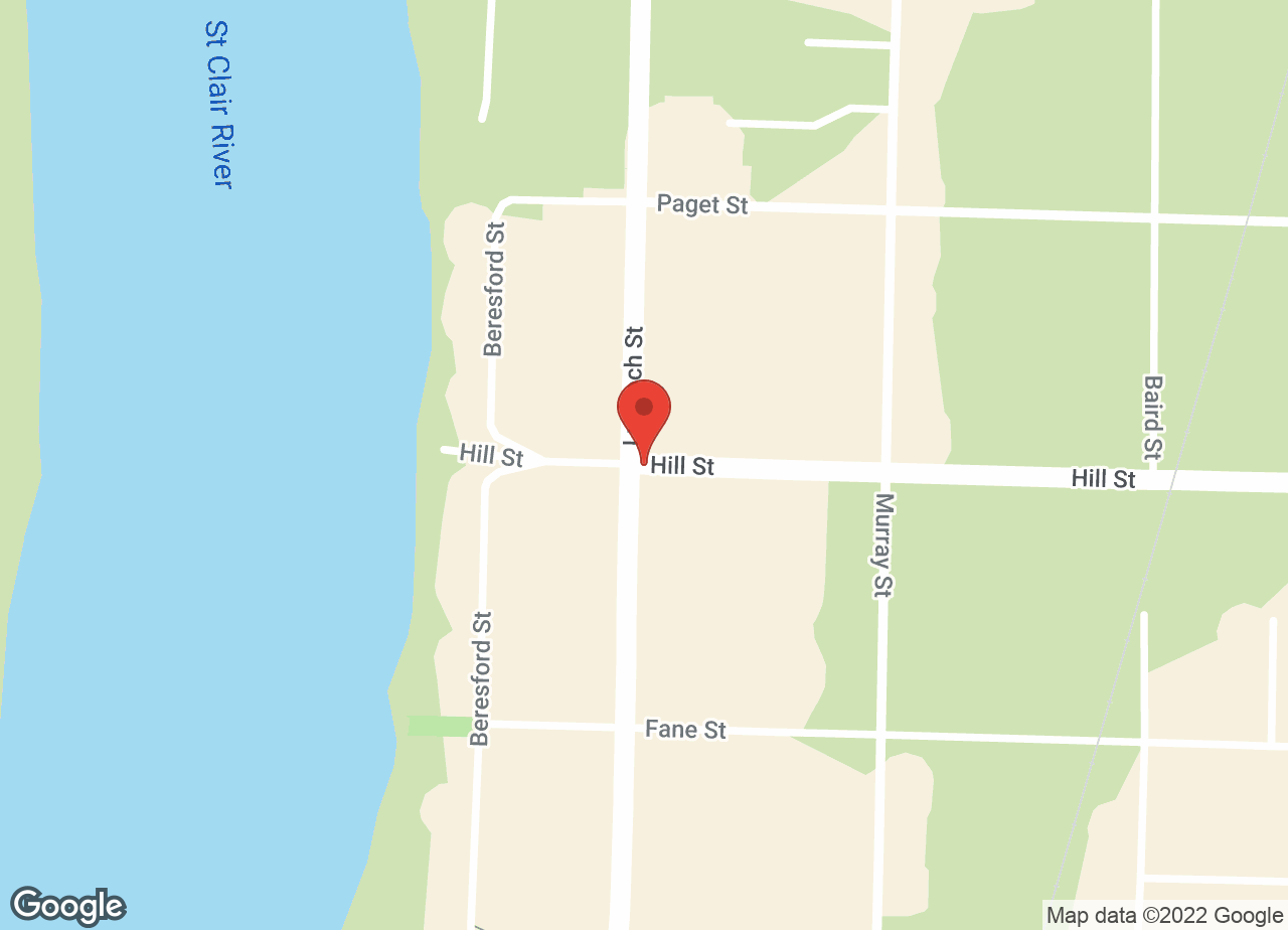 Google Map of Corunna Veterinary Services