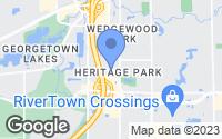 Map of Grandville, MI