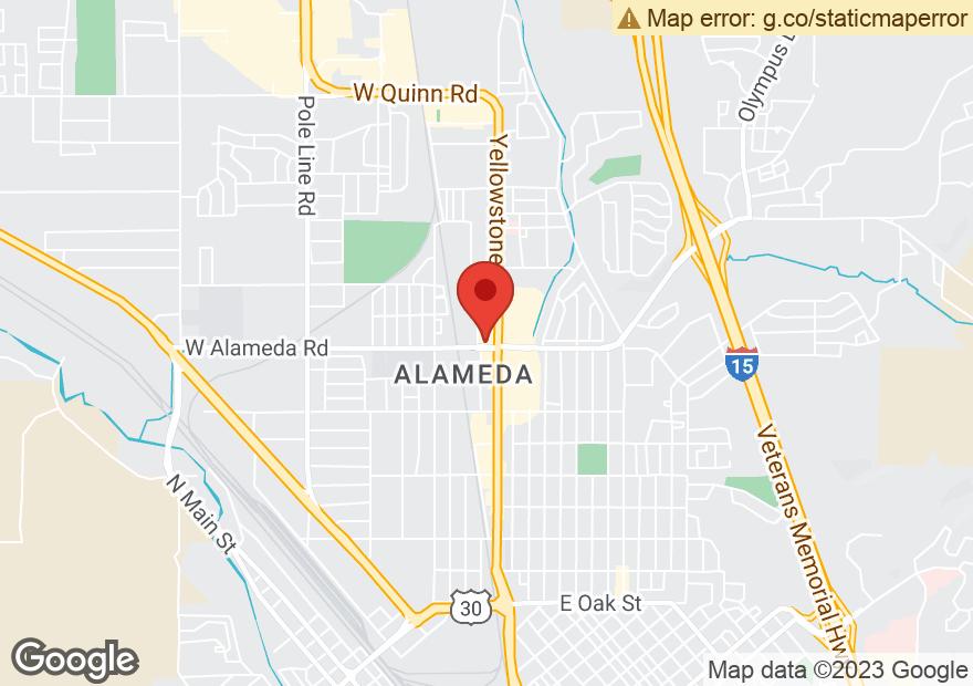 Google Map of 905 YELLOWSTONE AVE