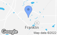 Map of Franklin, WI