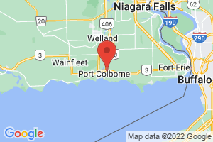 Map of Port Colborne
