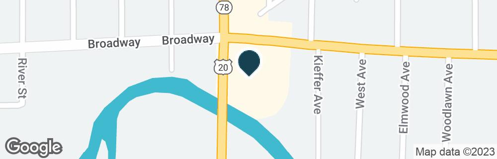 Google Map of4815 BROADWAY