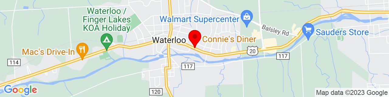 Google Map of 42.90303900000001, -76.8554898