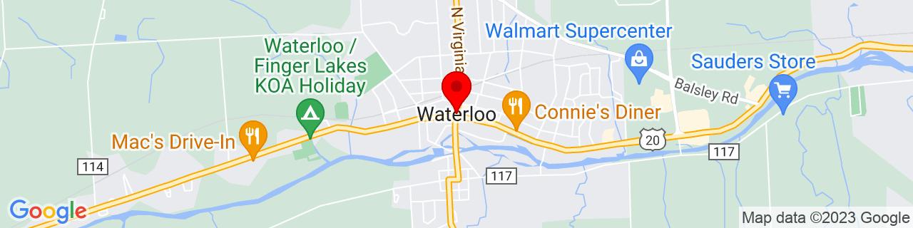 Google Map of 42.9047884, -76.8627367