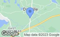 Map of Danville, NH