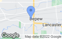 Map of Depew, NY