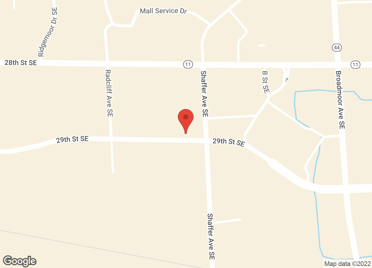 Google Map of VCA Woodland Animal Hospital