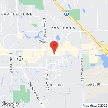 Map of Check `n Go at 4196 28th Street Southeast, Grand Rapids, MI 49512