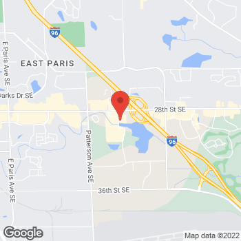 Map of Staples at 5110 28th Street, Grand Rapids, MI 49512