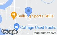 Map of Goodrich, MI