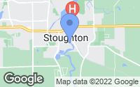 Map of Stoughton, WI