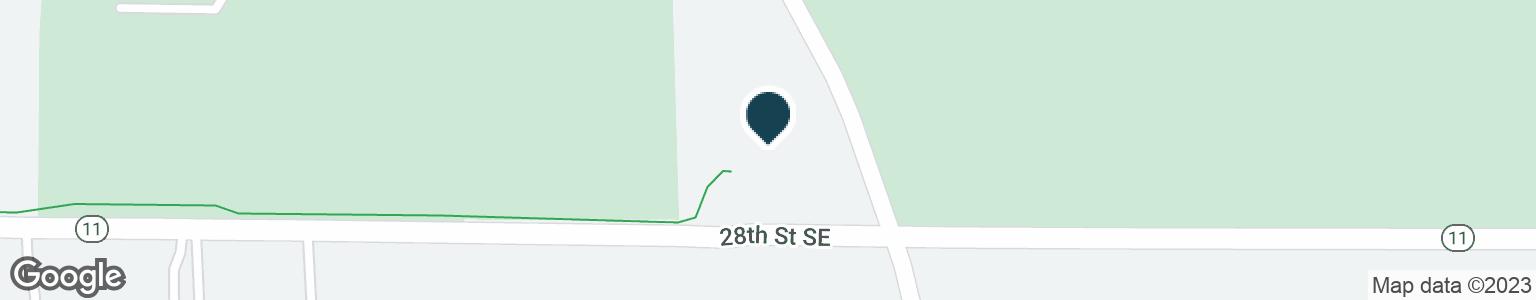 Google Map of2643 KALAMAZOO AVE SE