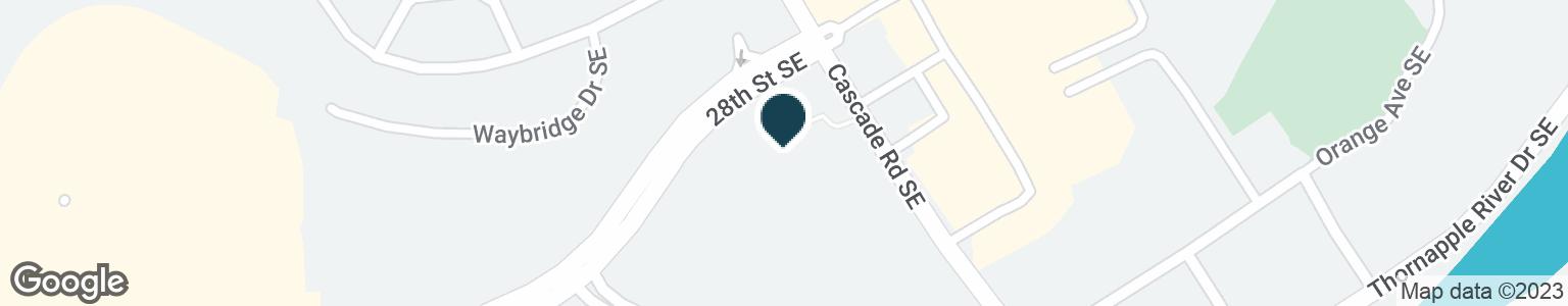Google Map of6790 CASCADE RD SE